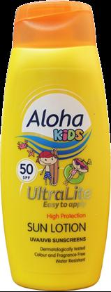 Picture of £5.99 ALOHA SUNTAN LOTION FACTOR 50 KIDS