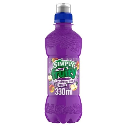 Picture of £0.69 SIMPLY FRUITY 330ml BLKCURRANT