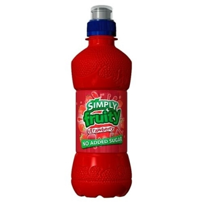 Picture of £0.69 SIMPLY FRUITY 330ml STRAWBERRY